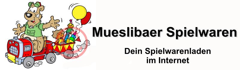 Mueslibaer Spielwaren-Logo