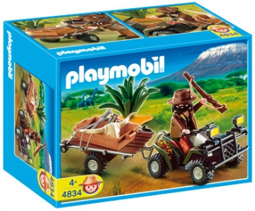 Playmobil 4834 - Wilderer-Quadgespann