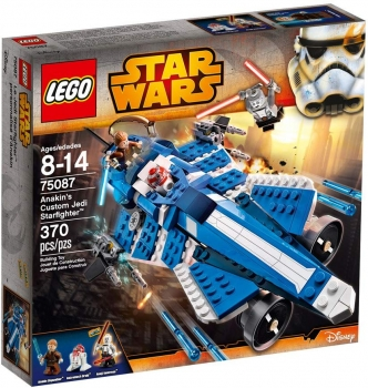 Lego 75087 - Star Wars, Anakin's Custom Jedi Starfighter™