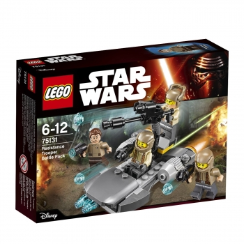 Lego 75131 - Star Wars, Resistance Trooper Battle Pack